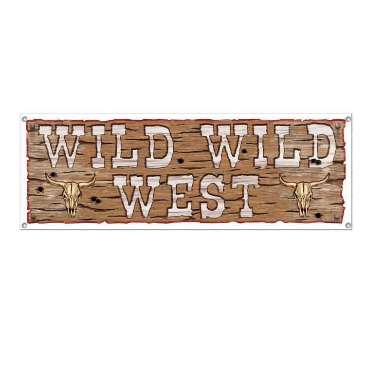 Wild Wild West Banner