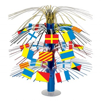 Nautical Flags Centerpiece