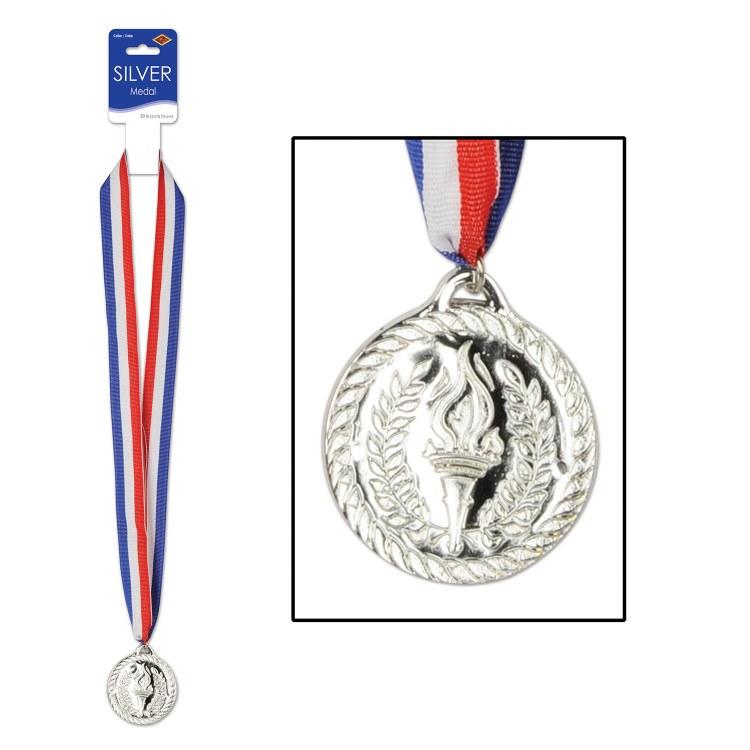 Silver Medal w/ Ribbon