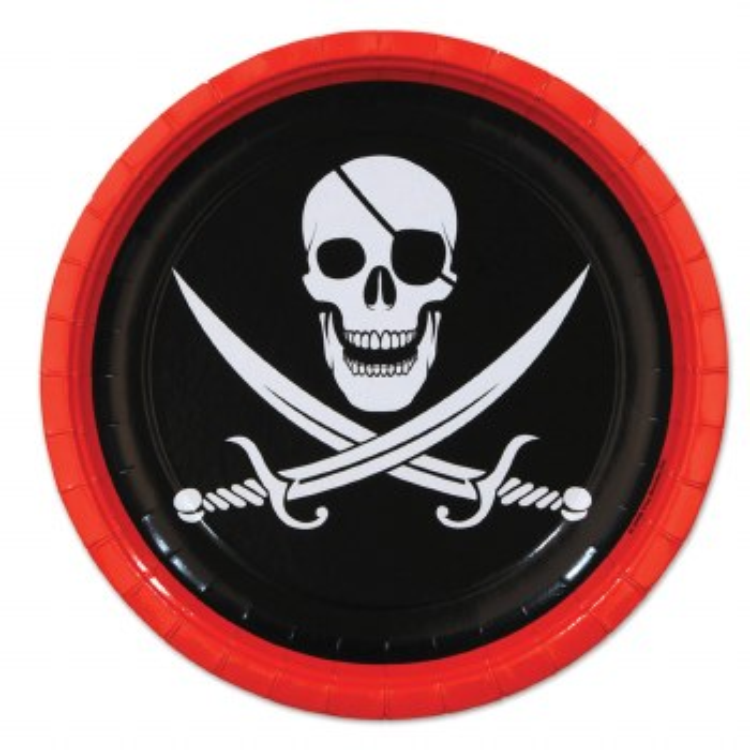 Pirate 9in Plate