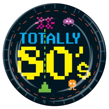 Totally 80's 9in Plate