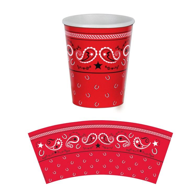 Bandana 9oz Cups