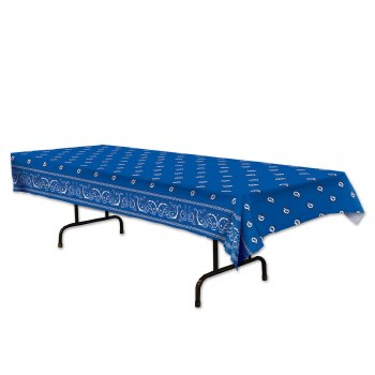 Tablecover Bandana Blue