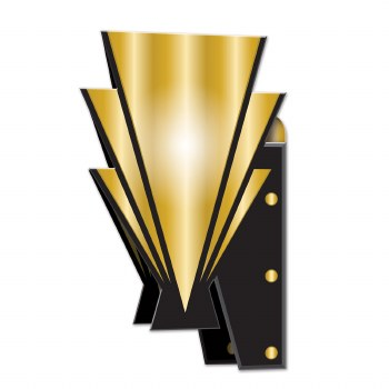 Great 20's 3D Wall Sconces
