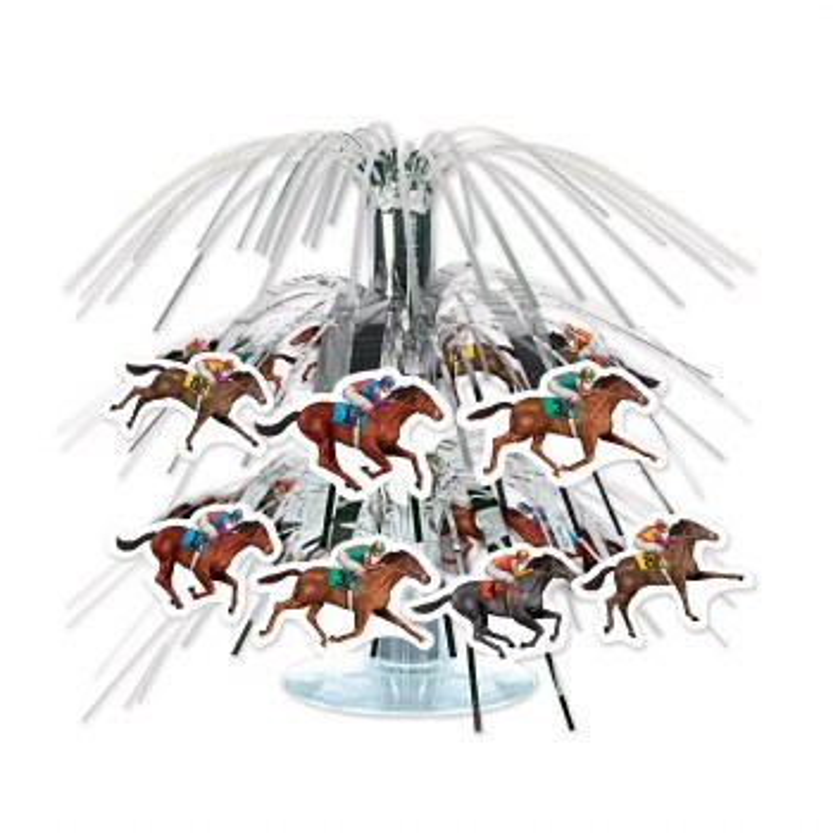 Horse Racing Centerpiece Mini