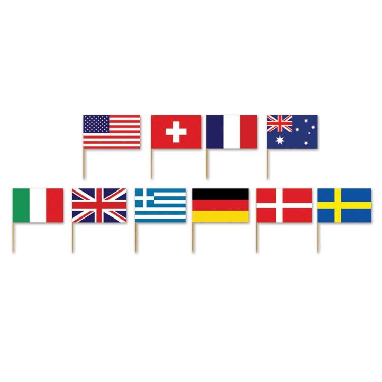 INT'L Flag picks