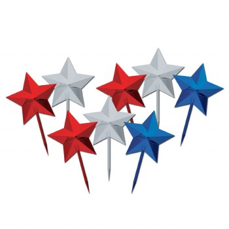 Star Picks Red/Silver/Blue