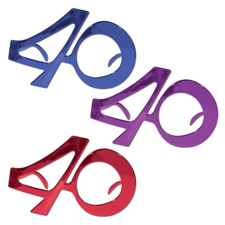 """Glasses """"40"""" Fanci Frames"""