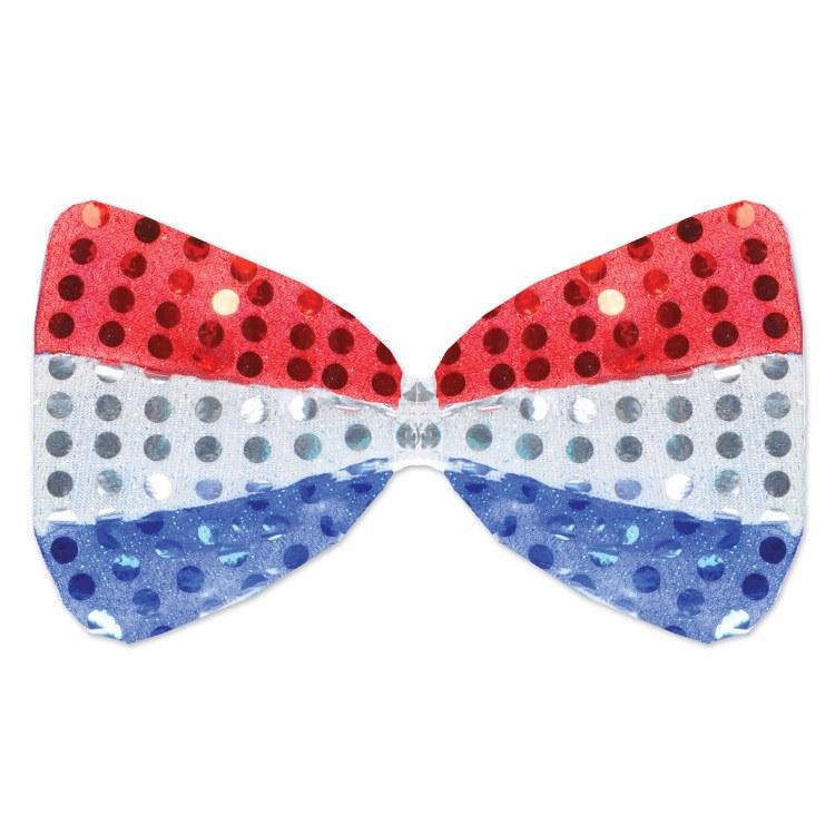 Bow Tie Glitz Patriotic