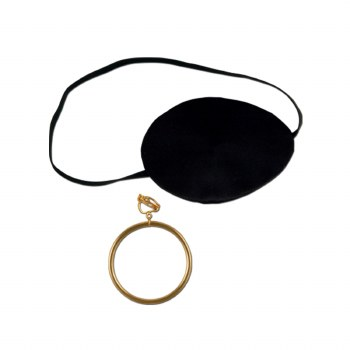 Eye Patch And Earring Set
