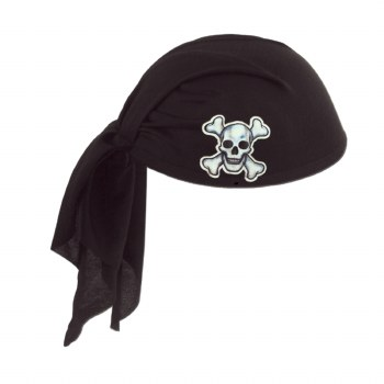 Hat Pirate Scarf BLK