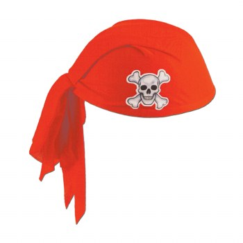 Hat Pirate Scarf Red