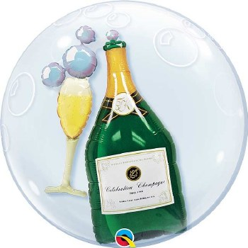 Champagne Double Bubble ~ 24in