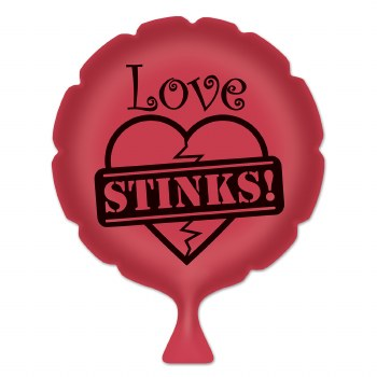 Whoopie Cushion Love Stinks