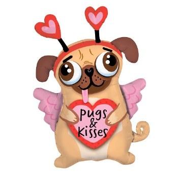 MYl 36'' Pugs And Kisses