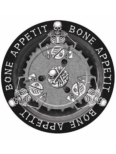 Bone Appetit 9in Plates 8ct