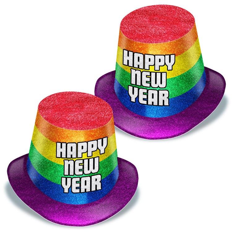 New Year Pride Hi Hats