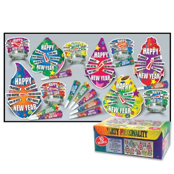 Party Personality Kit For 10