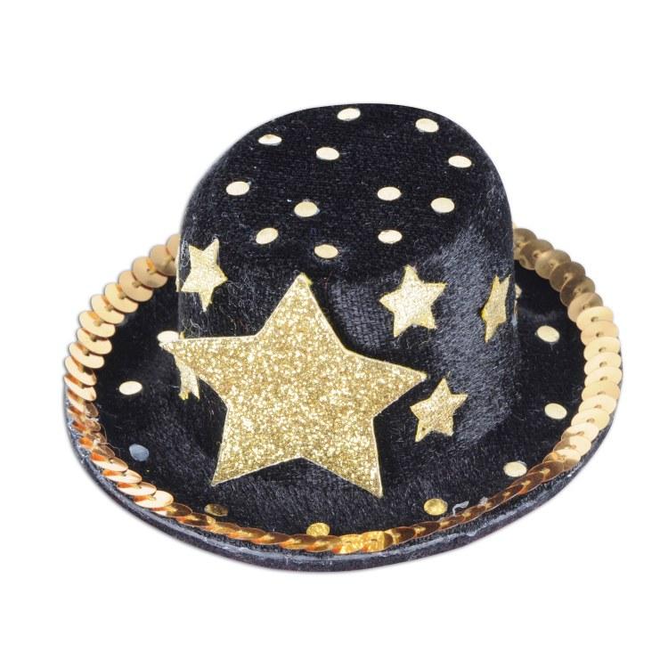 Top Hat Gold StarMini Hairclip