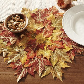 Placemat Leaves