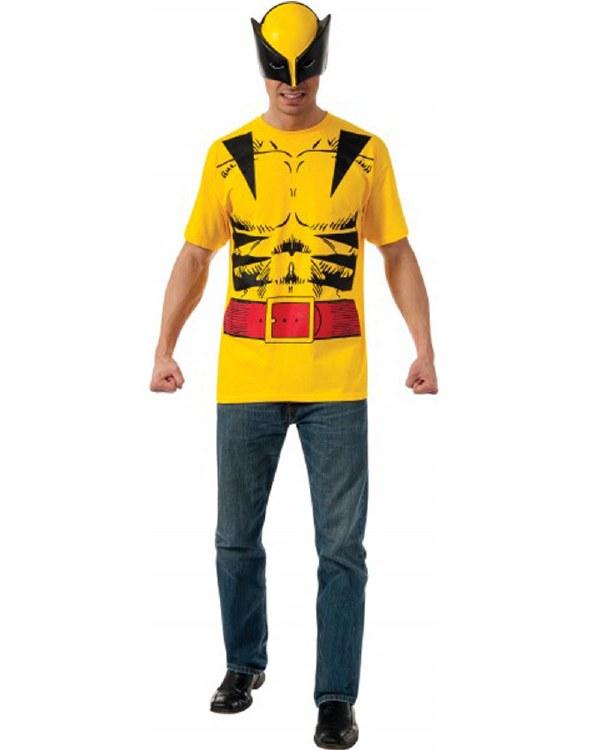 Wolverine Shirt w/ Mask Med
