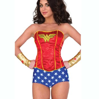Wonder Woman Corset M/L