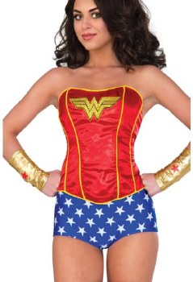 Wonder Woman Corset S/M
