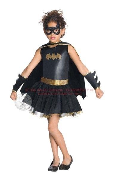 Batgirl Tutu Dress Child Medium