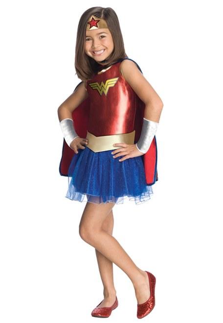 Wonder Woman Tutu Dress Child Med