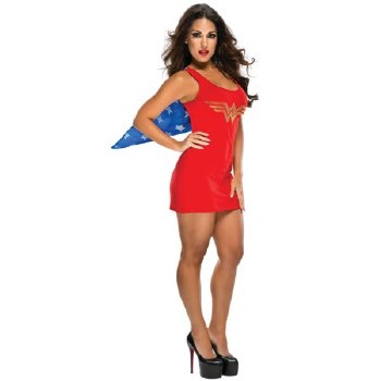 Wonder Woman Tank Dress Med
