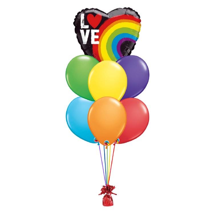 Balloon Bouquet ~ PRIDE LOVE ~ Medium