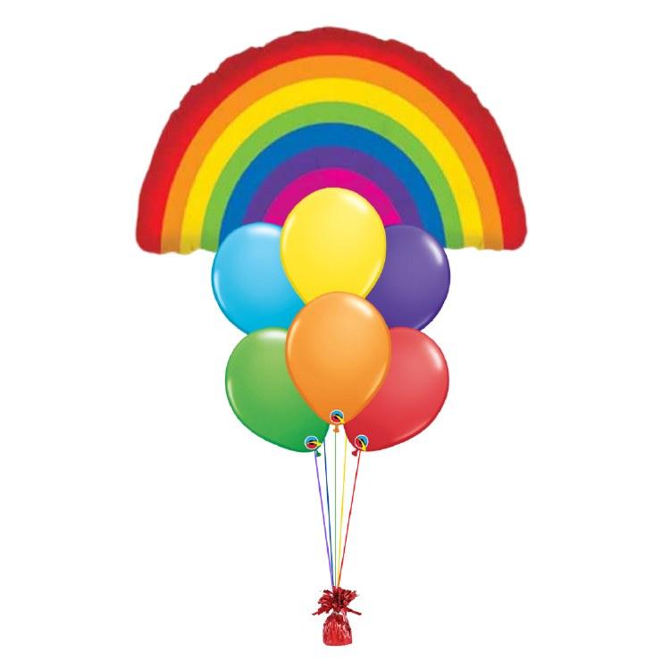Balloon Bouquet ~ PRIDE RAINBOW ~ Large