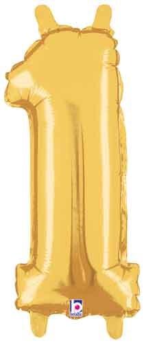 "14"" Gold Juniorloon Number 1"