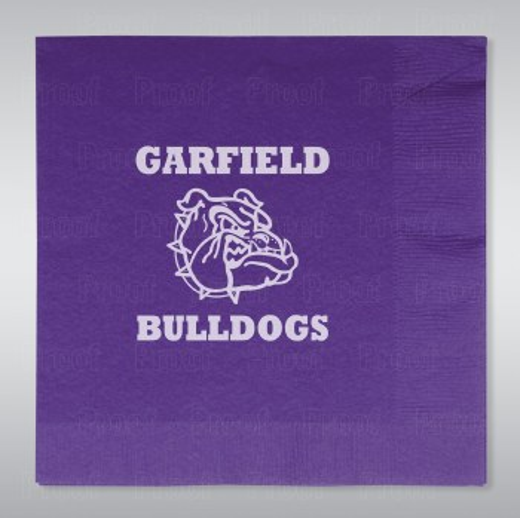 Garfield Bulldogs Lunch Napkins 16ct