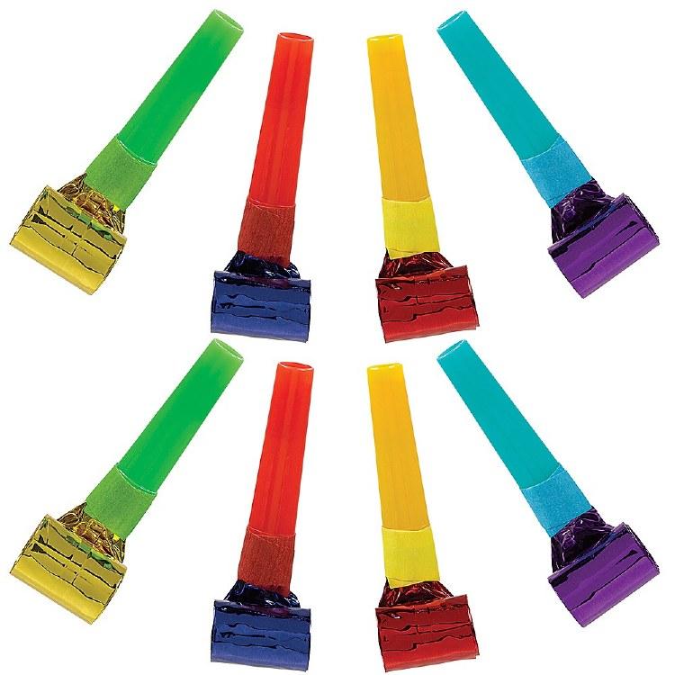 Bday Rainbow Blowouts 8pk