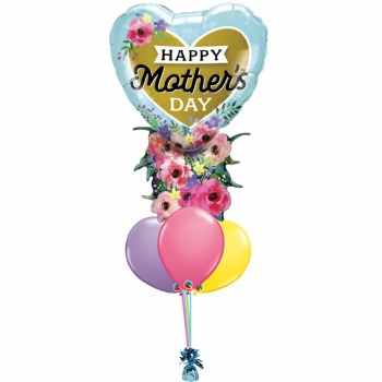 Balloon Bouquet ~ Flowers For Mom