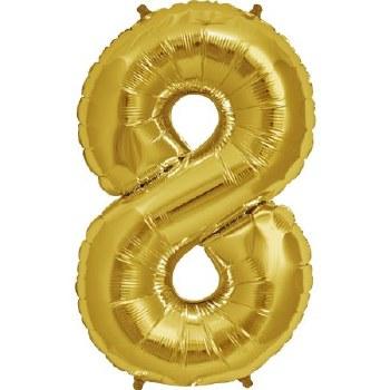 """JuniorLoon """"8"""" Gold 14 Inch"""