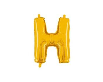 """JuniorLoon """"H"""" Gold 14 Inch"""