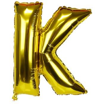 """JuniorLoon """"K"""" Gold 14 Inch"""