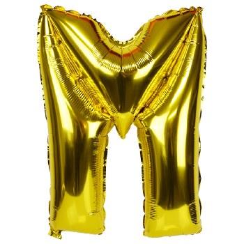 """JuniorLoon """"M"""" Gold 14 Inch"""