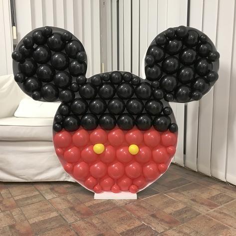 Mosaic Frame w/ Bllns Mickey