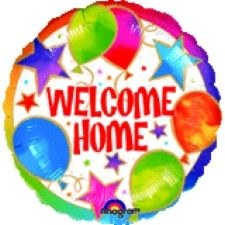 "Blln Foil 18"" Welcome Home"