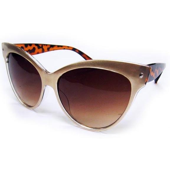 Sunglasses Cat Eye Retro Asst