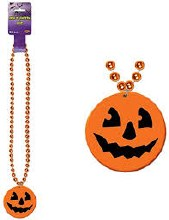 Beads Jack-O-Lantern