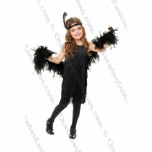Fashion Flapper Black L
