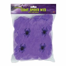 Giant Spider Web, Black