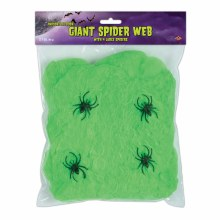 Giant Spider Web, Green