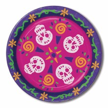 Day of Dead 9in Plate