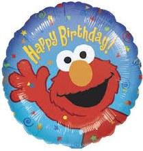 "Elmo Happy Birthday ~ 18"""