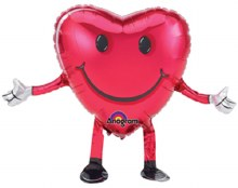 "Mylr 26"" Heart SmileyW/ArmLegs"